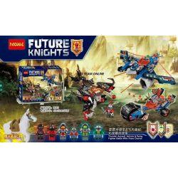 Lego Nexo Knights MOC Decool 8016 ISI Xếp hình Chiến trường 586 khối
