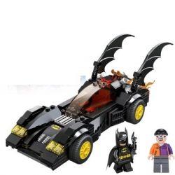 Sheng Yuan 302 SY302 (NOT Lego Super Heroes Batmobile And The Two-Face Chase ) Xếp hình Ô Tô Người Dơi Truy Đuổi Kẻ 2 Mặt 255 khối