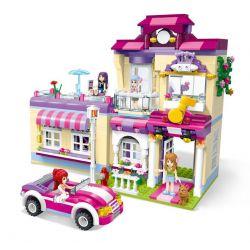 Lego Friends MOC Enlighten 2007 Cherry Star Training Center Xếp hình Trung tâm đào tạo Ngôi sao Cherry 734 khối