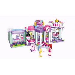 Enlighten 2006 Friends MOC Beauty Shop Xếp hình Cửa hàng bán đồ làm đẹp 487 khối