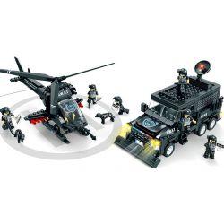 Lego Ultra Agents MOC Woman C0534 Apache El Tigre Xếp hình 716 khối