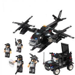 Lego Ultra Agents MOC Woma C0533 Helicopter Car Xếp hình Trực thăng phối hợp ô tô lính đặc nhiệm 594 khối
