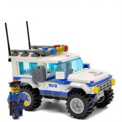 Gudi 9312 City Police SUV Xếp Hình Xe SUV Của Cảnh Cát 163 Khối