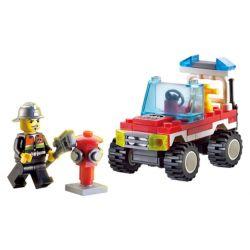Lego City MOC Enlighten 901 Xếp hình 62 khối