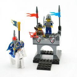 Lego Castle MOC Enlighten 1015 Beacon Xếp hình Giám sát trên tường thành 77 khối