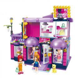 Enlighten 2005 Friends MOC Boutique Xếp hình Cửa hàng bán đồ lưu niệm 458 khối
