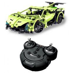 Lego Technic MOC Double E CaDa C51007W Sports Car Xếp hình Xe thể thao động cơ pin xạc điều khiển từ xa 453 khối