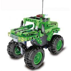 Doublee Cada C52006 C52006W (NOT Lego Technic Monster Off-Loader Pull Back ) Xếp hình Xe Off-Road Quái Vật Kéo Thả 182 khối