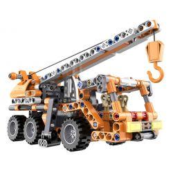Doublee Cada C52013 C52013W (NOT Lego Technic Mobile Crane Pull Back ) Xếp hình Xe Cẩu Kéo Thả 272 khối
