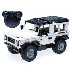 Lego Technic MOC Double E CaDa C51004W Car Xếp hình Ô tô động cơ pin sạc điều khiển từ xa 380 khối