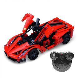 Doublee Cada C51009 C51009W (NOT Lego Technic Supercar ) Xếp hình Siêu Xe Động Cơ Pin Sạc Điều Khiển Từ Xa 380 khối