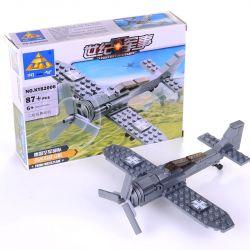 Kazi Gao Bo Le GBL Bozhi KY82006 Military Army The Focke-Wulf Fw 190 Kampfflugzeug Xếp Hình Máy Bay Chiến đấu 87 Khối