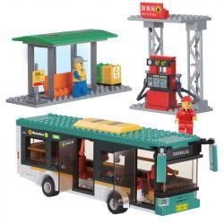 Kazi Gao Bo Le GBL Bozhi KY85014 City Hybrid Bus Xếp Hình Xe Buýt Lai 341 Khối