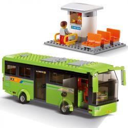 Lego City MOC Kazi KY85013 Tourist Bus Xếp hình 364 khối