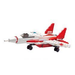 Kazi Gao Bo Le GBL Bozhi KY85005 City Air Patrol Xếp Hình Máy Bay Chiến đấu 120 Khối