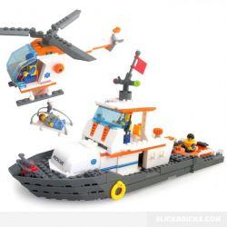 Kazi Gao Bo Le GBL Bozhi KY85008 City Maritime Search And Rescue Xếp Hình Đội Tìm Kiếm Cứu Hộ Trên Biển 433 Khối
