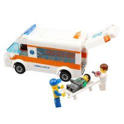 Kazi Gao Bo Le GBL Bozhi KY85010 City Ambulance Xếp Hình Xe Cứu Thương 199 Khối