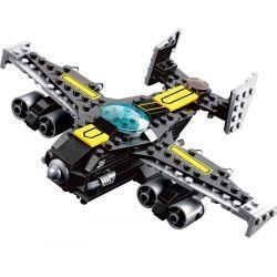 Lego City MOC Kazi KY81016 Fighter plane Xếp hình Máy bay chiến đấu 176 khối