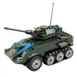Lego Military Army MOC Kazi KY81003 Soviet Tank Xếp hình 150 khối