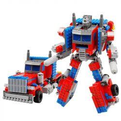Lego Transformers MOC Kazi KY8023 Robot transform tractor Xếp hình Robot biến hình xe đầu kéo 384 khối