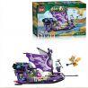 Enlighten 2210 (NOT Lego Creation of the Gods Evil Queen's Boat ) Xếp hình Du Thuyền Của Đát Kỷ 321 khối