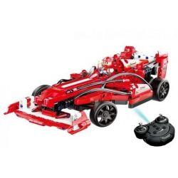 Doublee Cada C51010 C51010W (NOT Lego Technic F1 Racer ) Xếp hình Xe Đua Công Thức 1 Động Cơ Pin Xạc Điều Khiển Từ Xa 317 khối