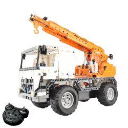 Doublee Cada C51013 C51013W (NOT Lego Technic Mobile Crane ) Xếp hình Xe Cẩu Hàng Động Cơ Pin Sạc Điều Khiển Từ Xa 838 khối