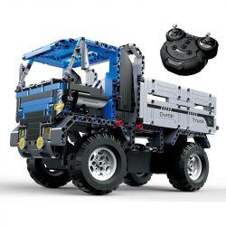 Doublee Cada C51017 C51017W (NOT Lego Technic Dump Truck ) Xếp hình Xe Tải Chở Phế Thải Động Cơ Pin Sạc Điều Khiển Từ Xa 638 khối