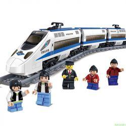 Gao Bo Le GBL KY98104 Creator MOC Railway Express Xếp hình Tàu cao tốc động cơ pin 415 khối