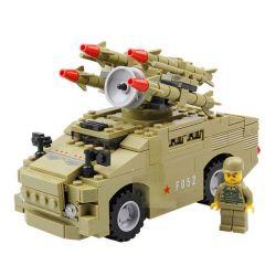 Kazi Gao Bo Le GBL Bozhi KY98401 Military Army Red-7 Air Defense Missile Vehicle Xếp Hình Xe Phóng Tên Lửa Phòng Không 266 Khối