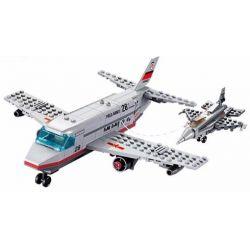 Lego Military Army MOC Kazi KY84022 Air refuelling plane Xếp hình Máy bay tiếp nhiên liệu 255 khối