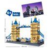 Lego Architecture 10214 Wange 8013 The Tower Bridge Xếp hình Cầu tháp luân đôn 1033 khối