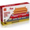Lego Architecture MOC Wange 8016 The Tian An Men Xếp hình Quảng trường Thiên An Môn 758 khối