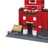 Lego Architecture MOC Wange 8017 The Spasskaya Tower Xếp hình Tháp chuông Spasskaya 1048 khối