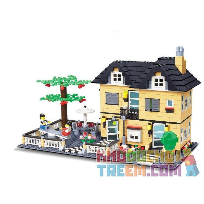 Lego Creator MOC Wange 34053 Xếp hình 816 khối