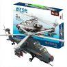 Wange JX002 4002 Military Army Wz-10 Gunship Xếp hình Trực Thăng Tấn Công 283 khối