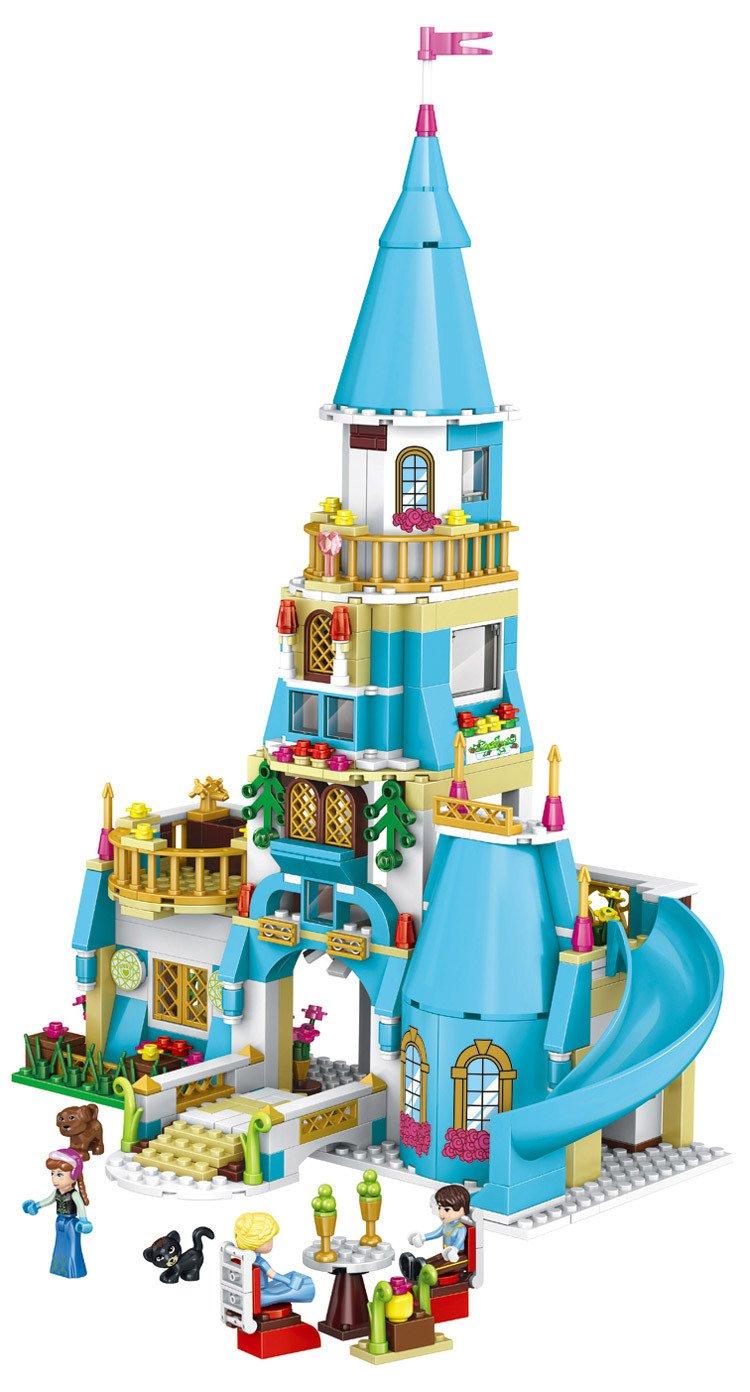 Lele 37008 Disney Princess Annas Blue Castle Xp Hnh Lu I Xanh Lego 41060 Sleeping Beautyamp039s Royal Bedroom Ca Anna 516 Khi Gi R