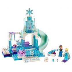 Bela 10665 Disney Princess MOC Anna & Elsa's Playground Xếp hình Sân chơi băng tuyết của Anna và Elsa 100 khối
