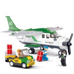 Sluban M38-B0362 City Cargo Plane Xếp Hình Máy Bay Vận Tải Cánh Quạt Nhỏ 251 Khối