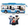 Sluban M38-B0330 (NOT Lego City City Bus ) Xếp hình Xe Buýt 235 khối