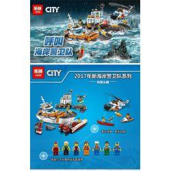 Lepin 02068 Bela 10754 Lele 39053 City 60166 Heavy-Duty Rescue Helicopter Xếp hình Trực thăng cứu nạn 448 khối