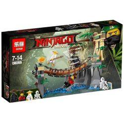 Lepin 06059 Bela 10715 Lele 31070 Sheng Yuan 955 SY955 Decool 20016 (NOT Lego Ninjago Movie 70608 Master Falls ) Xếp hình Trận Chiến Trên Cầu Dây 334 khối
