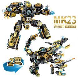Sembo 60023 Super Heroes Iron Man MK23 2 In 1 Xếp Hình Người Sắt 2 Trong 1 393 Khối