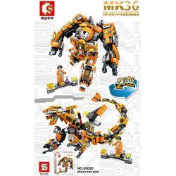 Sheng Yuan MK36 Sembo 60020 Super Heroes MOC Ironman MK36 2 in 1 Xếp hình Người Sắt MK36 2 trong 1 507 khối