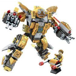 Lego Super Heroes MOC Sembo 60003 Iron Man MK24 Xếp hình Người sắt MK24 347 khối