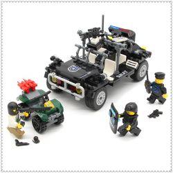 Lego Army Military MOC Enlighten 9411 SWAT Assault Vehicle Xếp hình Tấn công xe SWAT 246 khối
