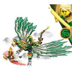 Sembo S8405 NinJaGo MOC Lloyd's Dragon Xếp hình Rồng của Lloyd 372 khối