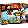 Lepin 07011 Bela 10248 Super Heroes 76019 Starblaster Showdown Xếp hình Starblaster Showdown 195 khối