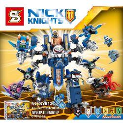 Lego Nexo Knights MOC Sheng Yuan SY913 Royal Guardian Ultimate Xếp hình 870 khối