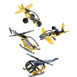 CaDa C53007 C53007W Technic Aircraft Model Four In One Xếp Hình Máy Bay Mô Hình 4 Trong 1 219 Khối